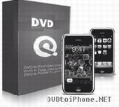Screenshot of DVD to iPhone Software