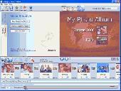 Screenshot of PhotoVidShow DVD photo slideshow software