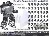 Spriteforge 3D 2 2D Spriteset Renderer Screenshot