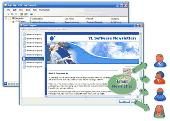 Screenshot of Email Management Software