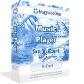 Music Player for X-Cart - X-Cart Mod Screenshot