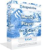 Screenshot of Music Player for X-Cart - X-Cart Mod