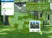 Screenshot of USA Real Estate Map