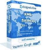 Screenshot of XML Sitemap for osCommerce - osCommerce module