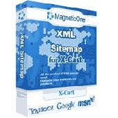 Screenshot of XML Sitemap for X-Cart