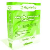 Zen Cart PriceRunner.com Data Feed Screenshot