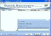 A Data Recovery Software - QR for CD Screenshot