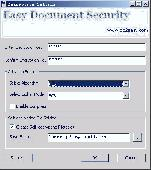 Easy Document Security Screenshot