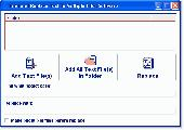 Find and Replace Text In Multiple Files Software Screenshot
