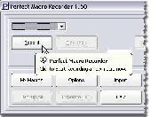 Perfect Macro Recorder Screenshot