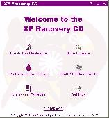 XP Recovery CD Maker Screenshot