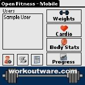 Open Fitness - Mobile Edition Screenshot