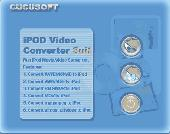 Screenshot of 01 Cucusoft iPod Video Converter + DVD