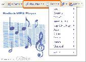 Screenshot of Crawler Radio&MP3 Player