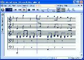 Screenshot of Notation Player
