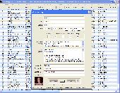 Screenshot of MP3 EZlib Music Library/Playlist Manager