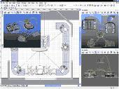 Screenshot of 3D Visioner - 3D Visualization for Visio