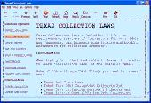 Texas Collection Laws Screenshot