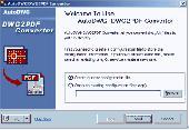 AutoDWG DWG2PDF Converter Screenshot