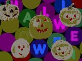 Halloween Pumpkins Wallpaper Screenshot
