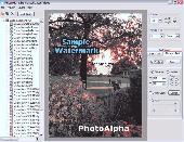 PhotoAlpha Screenshot