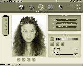 Screenshot of Reallusion FaceFilter Xpress - Photo Editor