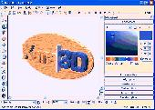 Screenshot of Xara 3D