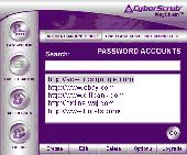 CyberScrub KeyChain Screenshot