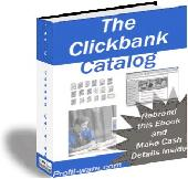Searchable Clickbank Catalog Screenshot