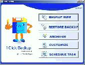 1Click Backup Screenshot