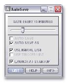 Screenshot of AutoSave Demo