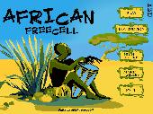 African Freecell Screenshot
