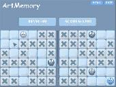Screenshot of ArtMemory