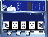 Casino Game Critters - Video Poker Screenshot