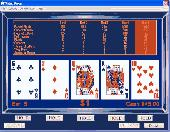 Screenshot of Casino Style Video Poker