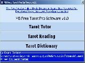 MB Free Tarot Pro Software Screenshot