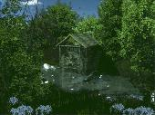 Screenshot of AD Water Mill - Animated Desktop Wallpaper