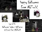 ALTools Haunted House Halloween Desktops Screenshot