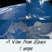A View fom Space- Europe Screensaver Screenshot