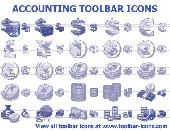 Accounting Toolbar Icons Screenshot