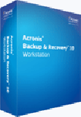 Acronis Backup & Recovery 10 Workstation Screenshot