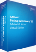 Acronis Backup and Recovery 10 Advanced Server Virtual Edition Screenshot