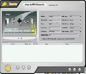 Screenshot of Agogo Video to MP3 Converter Free