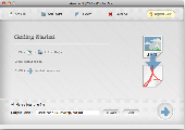 Amacsoft JPG to PDF for Mac Screenshot