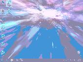 Animated Wallpaper: Hyperspace 3D Screenshot