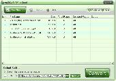 AnyBizSoft PDF to Excel Converter Screenshot