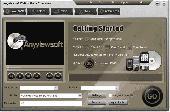Screenshot of Anyviewsoft DVD to Palm Converter