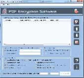 Apex PDF Encryption Screenshot