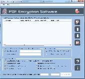 Apex PDF Encryption Screenshot