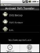 Apolsoft Android SMS Transfer Screenshot